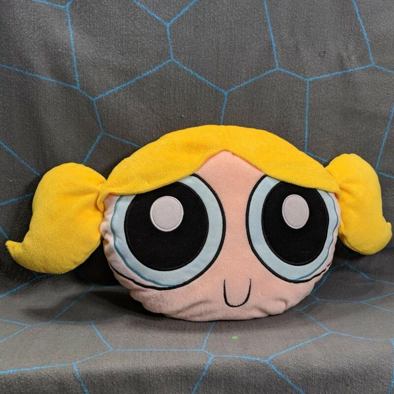 """Powerpuff Girls Bubbles Face Pillow Cartoon Network 15"""""""