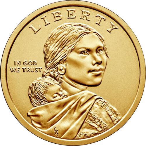 2019 P/D/S Sacagawea Dollar 3pc Update Set -- Uncirculated & Proof