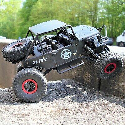 Rock Crawler Ferngesteuertes RC Auto mit Akku offroad spielzeug 27cm lang