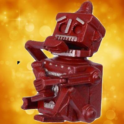 Spardose A CAST IRON ROBOT BANK mechanisches Geduld Spiel 17,6 cm x 12 cm x 14,8
