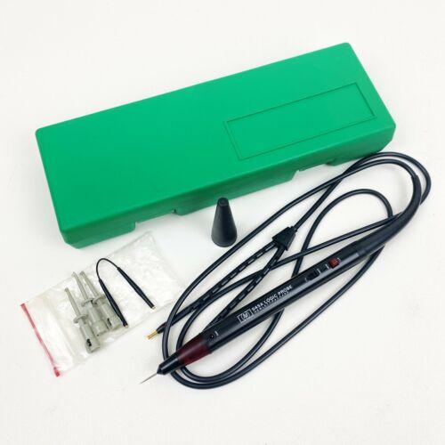 HP Hewlett Packard Logic Probe 545A, HP Spring Clips, Short Ground Wire & Case