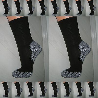Baumwolle Socken Wandern (Socken♦mit COOLMAX® Funktionsfaser♦35 - 50♦Sport♦Lauf♦Strümpfe♦Wander♦Jogging)