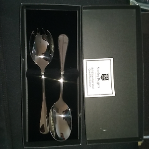 Stanley Rodgers Stainless Steel 2 pc Salad Server Set Keysborough Greater Dandenong Preview
