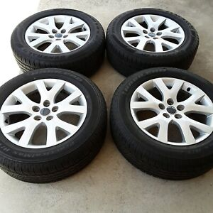 4x sport alloy rims 18 inch 5X114.3PCD and BRAND NEW tyres 235/60/18