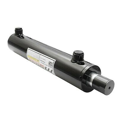 Universal Hydraulic Cylinder Welded Double Acting 2.5 Bore 13 Stroke 2.5x13