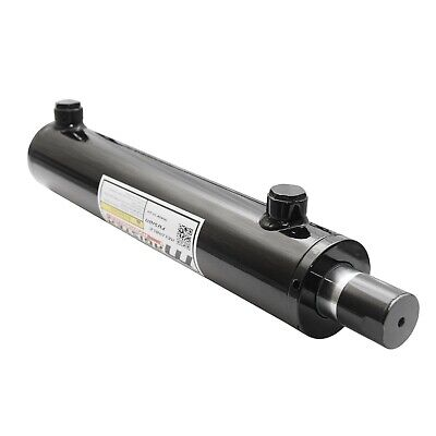 Universal Hydraulic Cylinder Welded Double Acting 2.5 Bore 8 Stroke 2.5x8