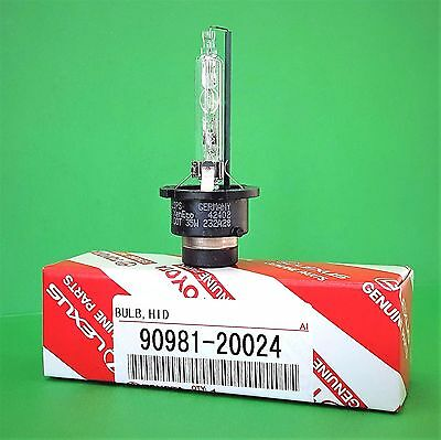 D4S x1 NEW OEM 90981-20024 20013 HID XENON Replacement Headlight Bulb