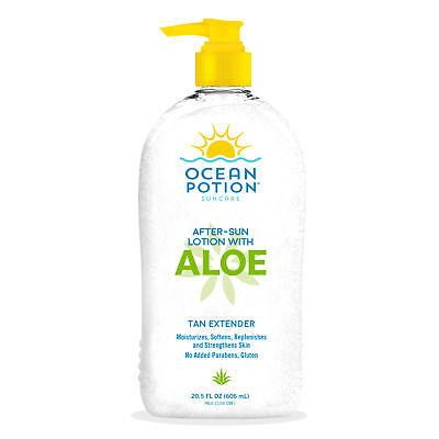 Ocean Potion Skincare After Sun Moisturizing Aloe Lotion 20.5 fl oz