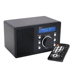 Wifi Internet Radio Bedroom Mini Wireless WLAN Digital Device News