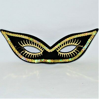 Sequin Eye Mask Halloween Masquerade Ball Fancy Dress Italian Venetian Carnival