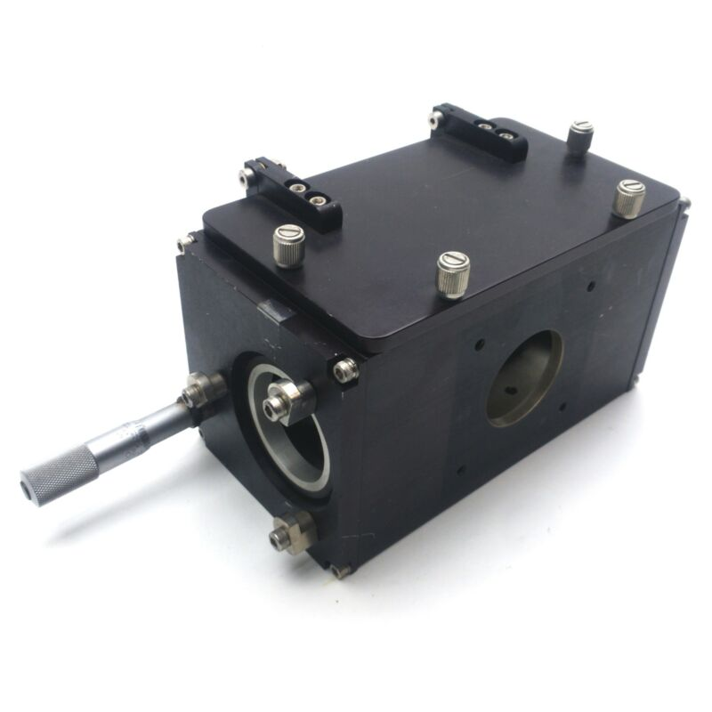 "Adjustable Beamsplitter Holder, 4-Way, 3-Axis, 2x 1 x 1"" Lens Size, ø44mm In/Out"