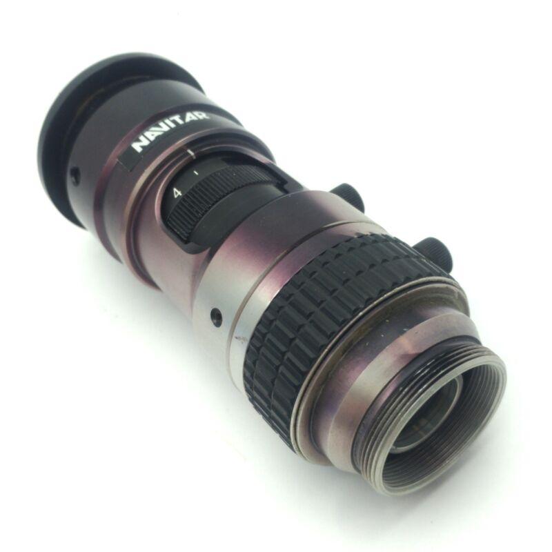 Navitar 1-6232 Zoom Body Machine Vision Camera Tube, 6.5X, 3.5mm FF *Bad Lens*