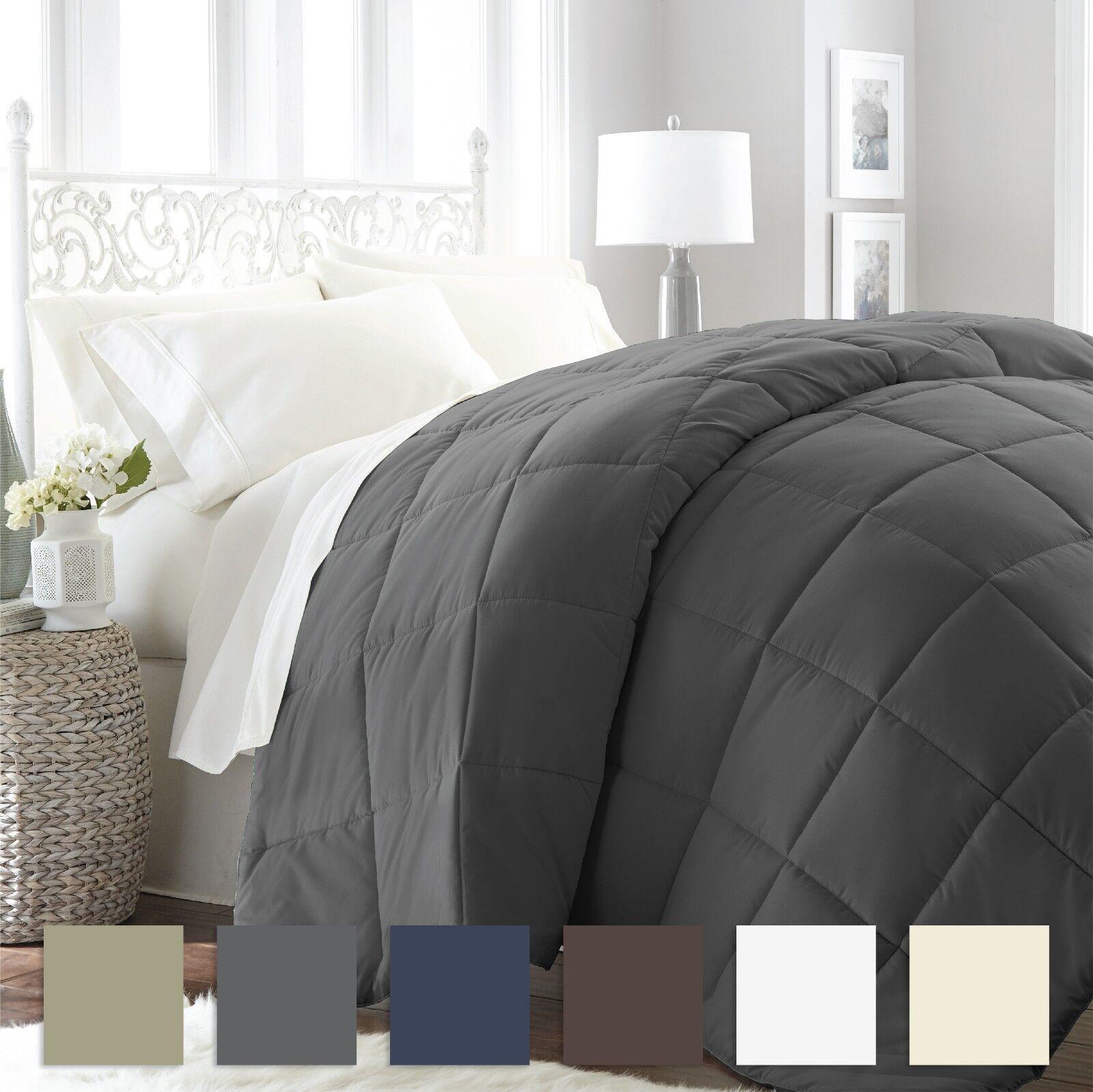 premium goose down alternative comforter 6 classic