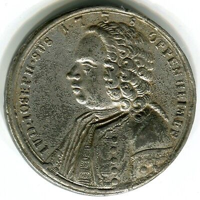 Germany 1738  Execution Of  The Jew Joseph Oppenheimer  Pewter  38Mm  Rare