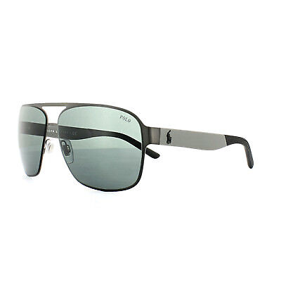 Polo Ralph Lauren Sunglasses 3105 915787 Matt Dark Ruthenium Grey