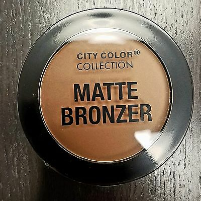 "City Color Collection Matte Bronzer ""Caramel"""