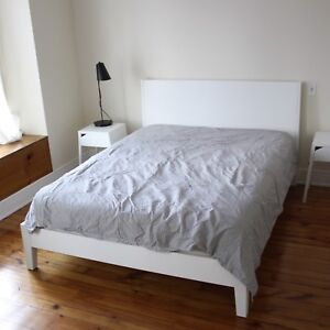 Ikea Nordli Bed Queen White Discontinued