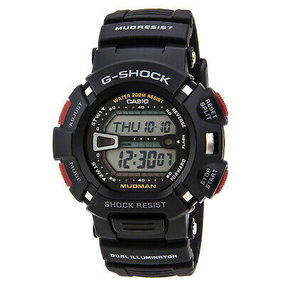 Casio G9000-1V Men's G-Shock Tough Mud Resistant Super Dual Illuminator Watch