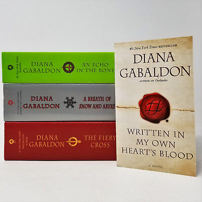 Starz OUTLANDER Series by Diana Gabaldon MASS MARKET PAPERBACK Set of Books 5-8