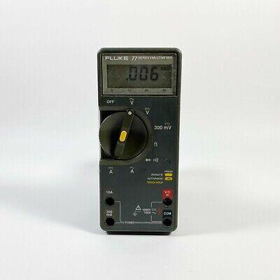 Fluke 77 Series Ii Multimeter No Leadscase