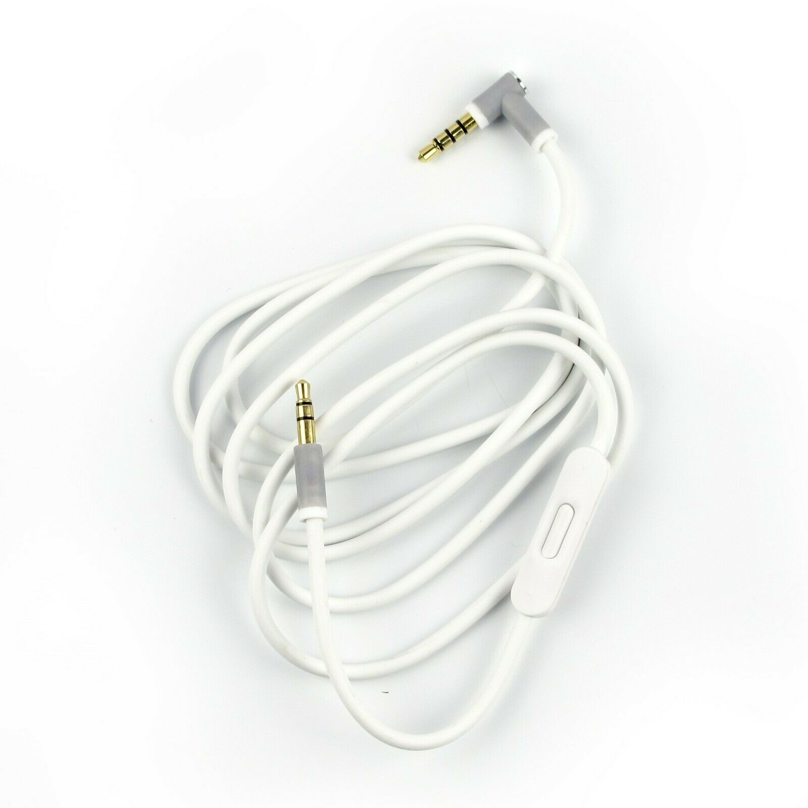 Replacement Audio Aux & Mic 3.5mm L Cord Cable  for Beats by