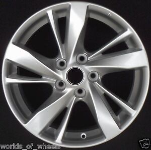 nissan altima 2013 2014 17 silver factory wheel rim 62593 u20 ebay. Black Bedroom Furniture Sets. Home Design Ideas