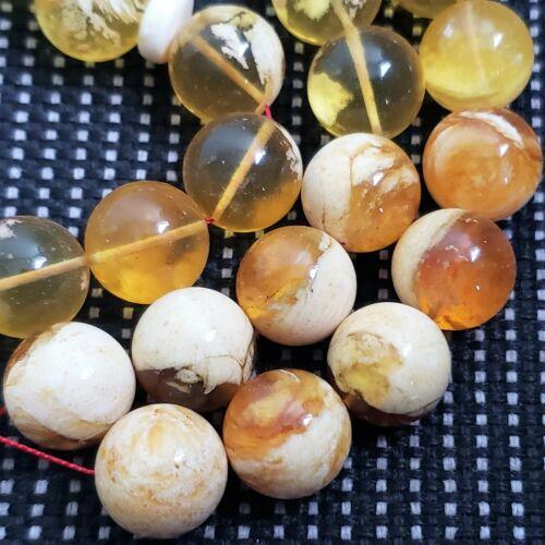 Natural Baltic Amber Rosary 33 Islamic Prayer Beads 70 Gr Misbaha Tasbih PRESSED