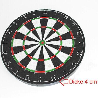 STEELDARTSCHEIBE - Sisal 4 cm stark Dart Board 45 cm Dartscheibe dick ~yx3 2031