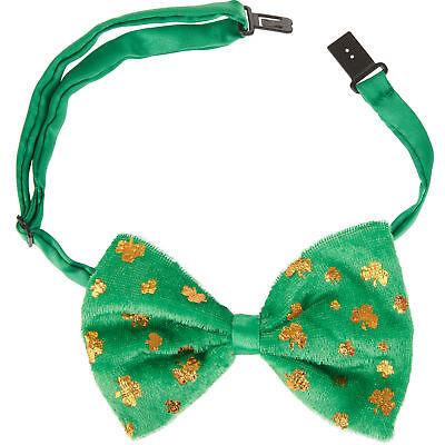 St. Patricks Day Fliege Kleeblatt Accessoires Irland Karneval Kostüm Party ()