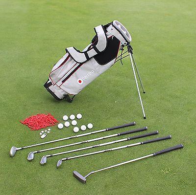 Damen GOLFSET Rechts | Anfänger-Halbsatz | Golf-Bag + 5 Schläger + 9 Bälle 17