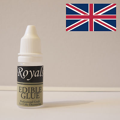 Royals 10ml Edible Glue Ideal For Cake Toppers Squeeze Top Icing Decorating UK