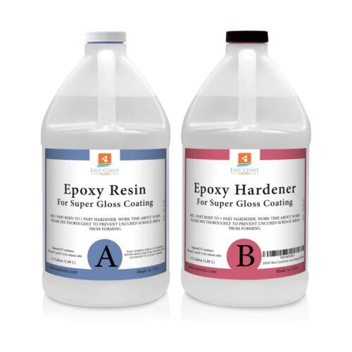 EPOXY RESIN 1 Gal kit for Super Gloss Coating