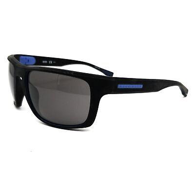 BOSS by Hugo Boss Sunglasses 0800S 859 Soft Black Men 58x19x130