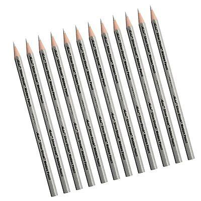 Silver Streak Welders Mark Pencil for Welding Cutting Steel Metal Marking 12 pk