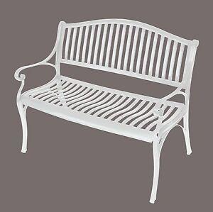 Weiße Gartenbank: Bänke  eBay