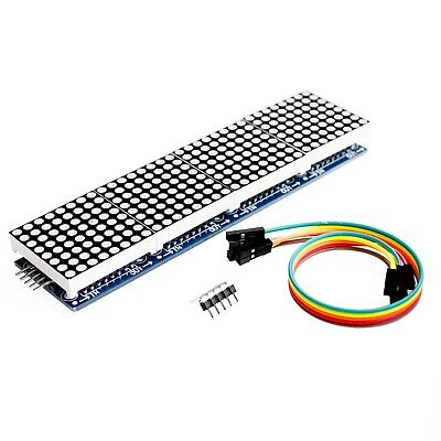 Redbluegreen Max7219 Dot Led Matrix Mcu Control Led Display Module For Arduino