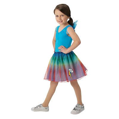 Rainbow Dash Mädchen Kostüm My Little Pony Kinder Tutu & - Rainbow Dash Kostüm Kind