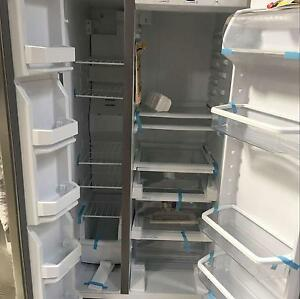 Brand New Whirlpool 640L Side By Side Fridge One year warranty Melbourne CBD Melbourne City Preview