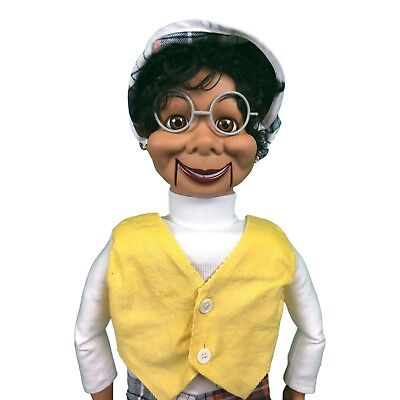 Lester Deluxe Upgrade Ventriloquist Dummy Doll Puppet With Moving Eyes