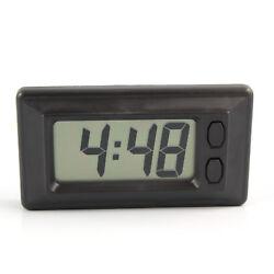 LCD Digital Clock w/ Calendar Display for Car Dashboard