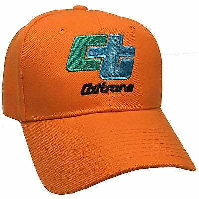 Caltrans Orange Ball Cap State Of California Transportation Hat