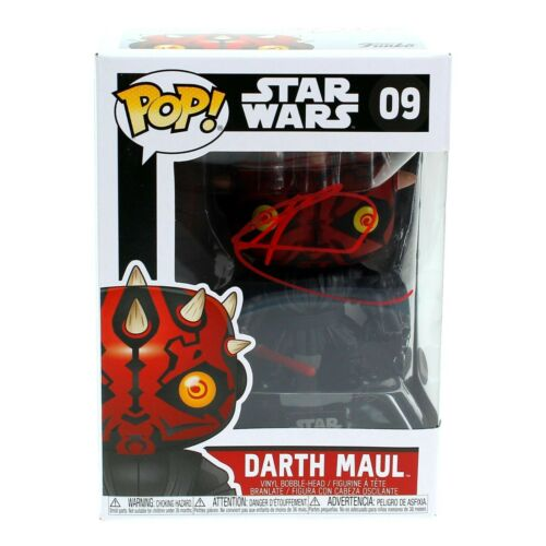Ray Park Autographed Funko Pop Darth Maul #09 Star Wars JSA COA Signed Sith