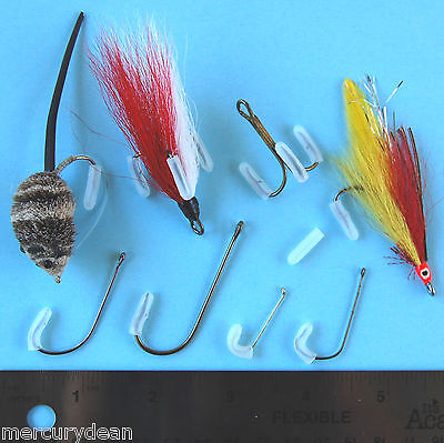 4 Sizes Available 25 Ken Sawada SL6 Black Spey Salmon Fly Hooks Fly Tying