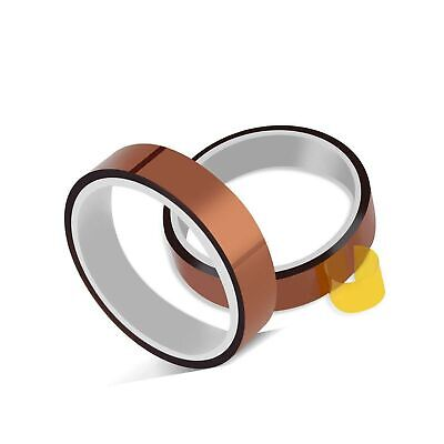 2 Rolls 10mm X 33m 108ft Heat Tape Heat Resistant Tape Heat Transfer Tape The...