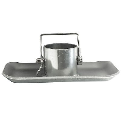 Trailer Jack Foot Plate 5000lbs With Pin Base for A-Frame Boat RV Camper ()