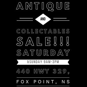 ANTIQUE AND COLLECTABLES SALE!!!