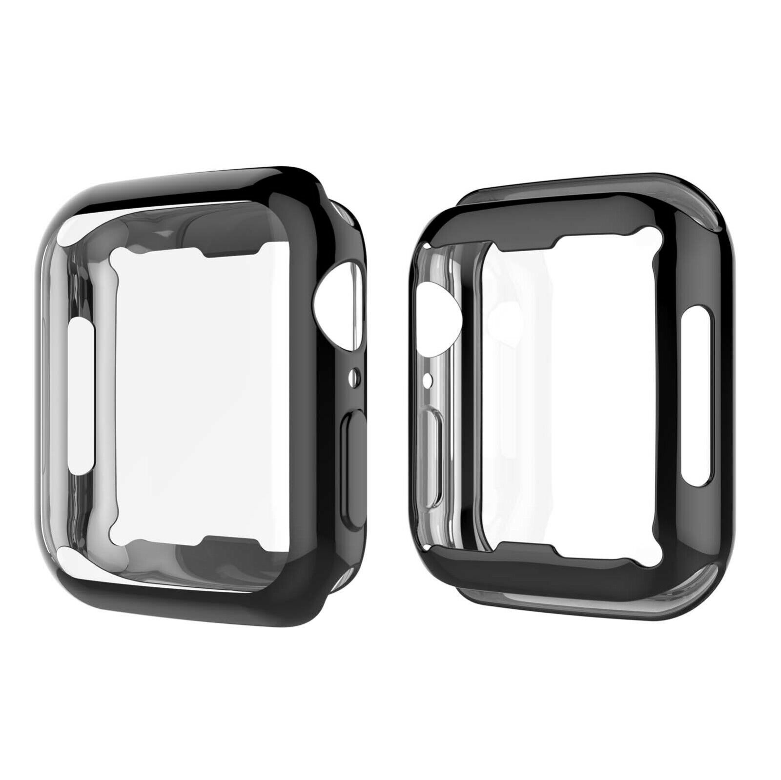 4Pcs Apple Watch Series 5 4 3 2 Case Screen Protector Full Body Protective Cover Cases, Covers & Skins
