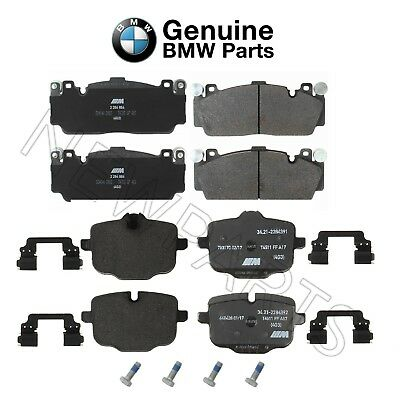 For Pair Set of Front & Rear Brake Pads Genuine BMW F06 F10 F12 F13 M5 M6 GC
