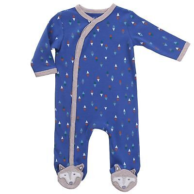 Asher & Olivia Footed Pajamas for Boys Baby Sleepers Side Snap Footies Clothes - Pj For Boys