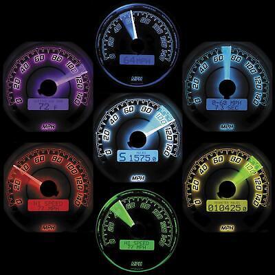 DAKOTA DIGITAL MVX SIX-GAUGE KITS, CHROME BEZEL MVX-8600-KG-C